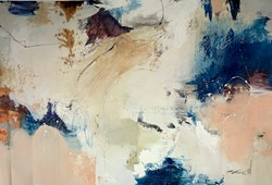 Open Skys by Natasha Barnes - Original Painting on Box Canvas sized 59x40 inches. Available from Whitewall Galleries